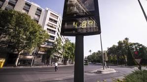 Un pueblo de Sevilla alcanzó este lunes la temperatura más elevada de España