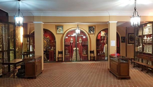 Aspecto de la casa de hermandad de la Expiración