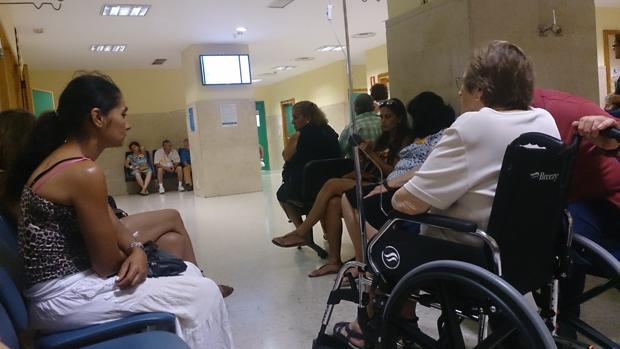 Sala de urgencias de un centro en Sevilla