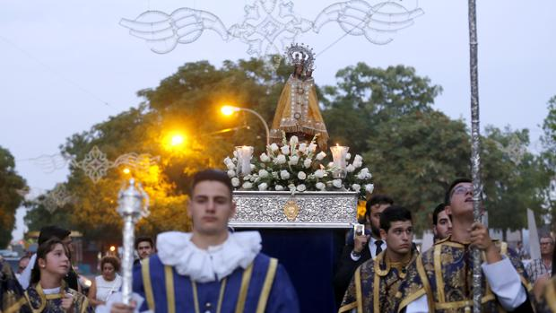 Traslado de la Virgen de la Fuensanta a la Catedral