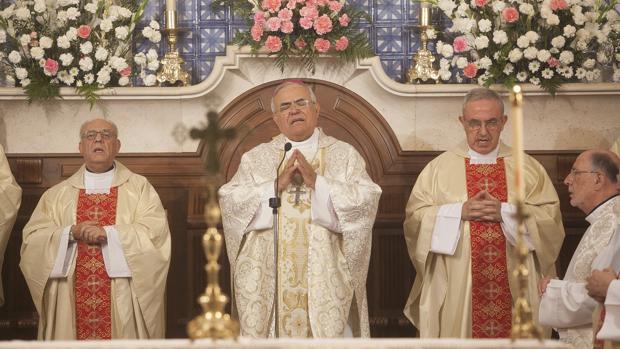 El obispo de Córdoba en la homilía de la Fuensanta del año pasado