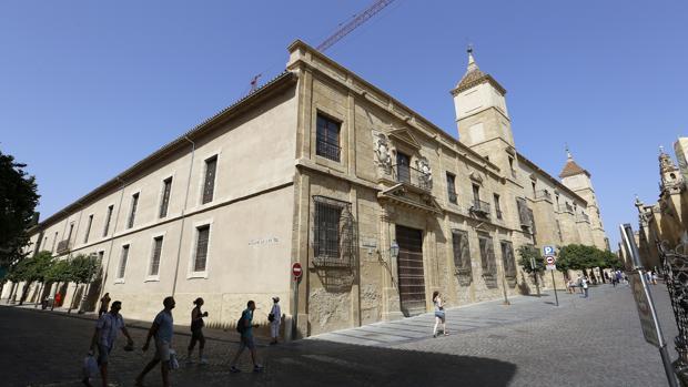 Fachadas del Palacio Episcopal de Córdoba