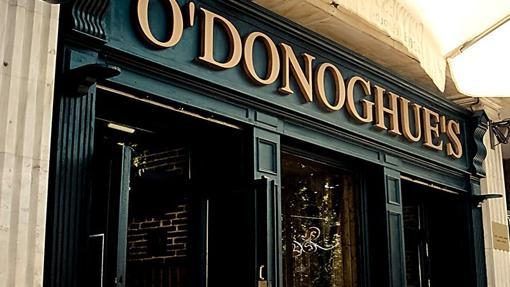 Fachada del O'donoghue's. en Gran Capitán