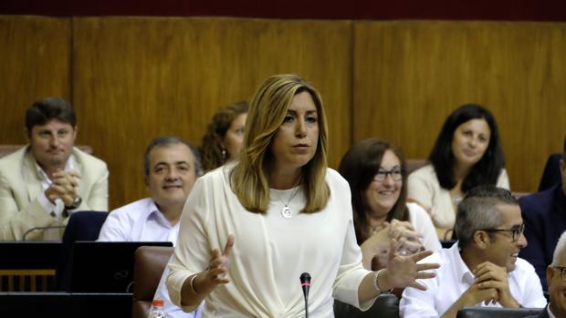 Sesión de control al gobierno de la Junta de Andalucia