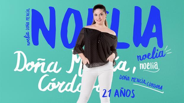 Foto promocional de Noelia en la web de Gran Hermano