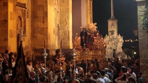 El Señor de la Redención, durante el Vía Crucis Magno
