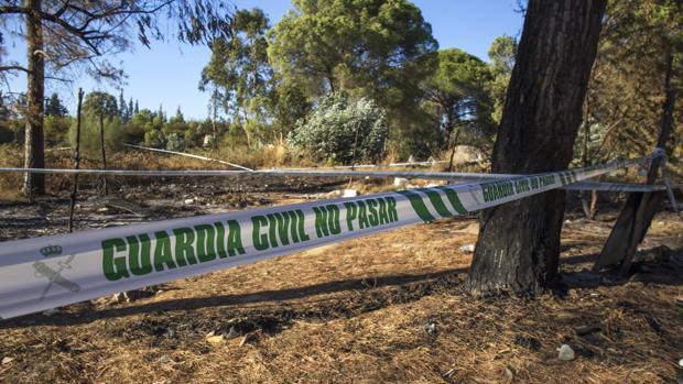 Zona del Camino de Montorrio donde fueron localizados los restos óseos