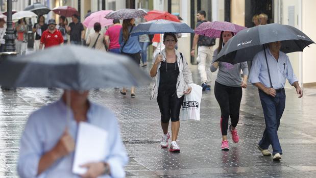 El martes está previsto que la lluvia vuelva a la ciudad