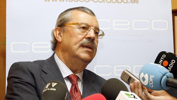 Vicente Serrano, presidente de la Asociación Provincial de Organizadores de Congresos