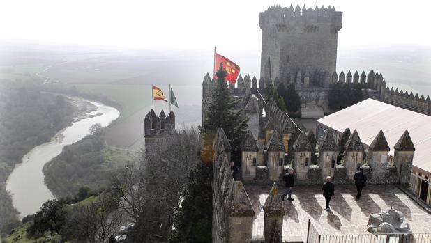 Imagen del castillo de Almodóvar donde se rodará «Juego de Tronos»
