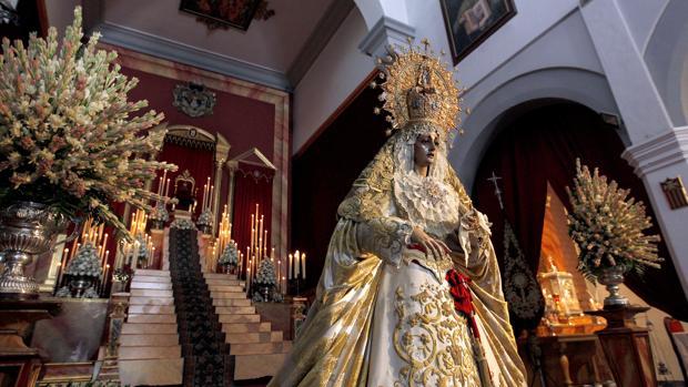 La Virgen de la Merced en su sede canónica