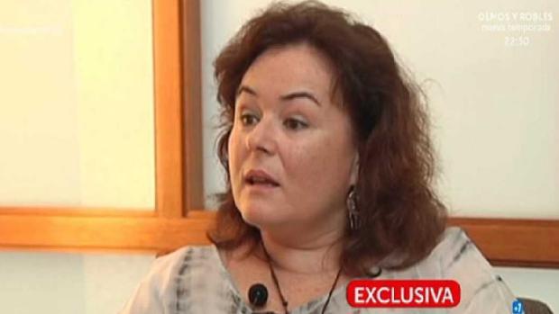 Ruth Ortiz en su entrevista a ABC