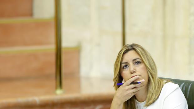 Susana Díaz, presidenta de la Junta