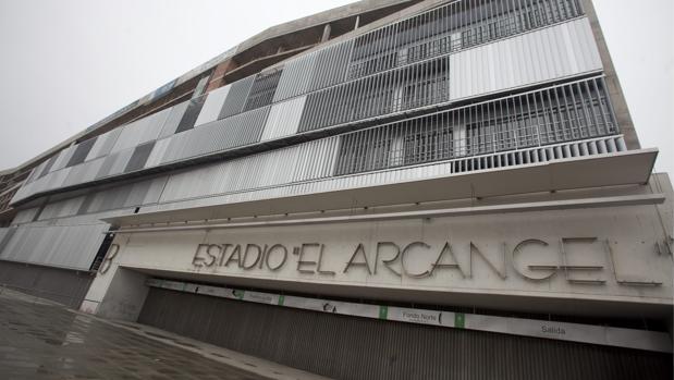 Oficinas sin uso en el Estadio Municipal El Arcángel