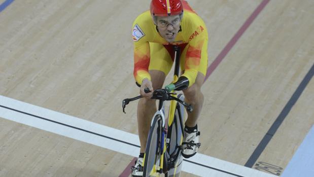 Alfonso Cabello, en la prueba del kilómetro en Río 2016