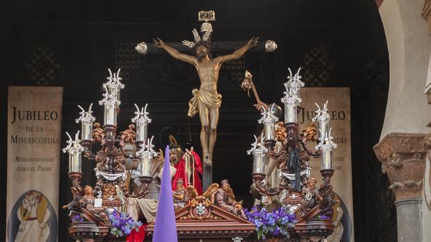 La Agonía, durante su procesión