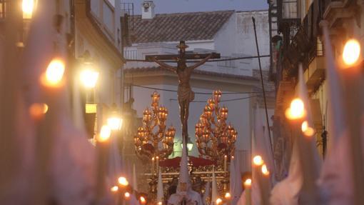 El Cristo de la Misericordia, en la calle Don Rodrigo