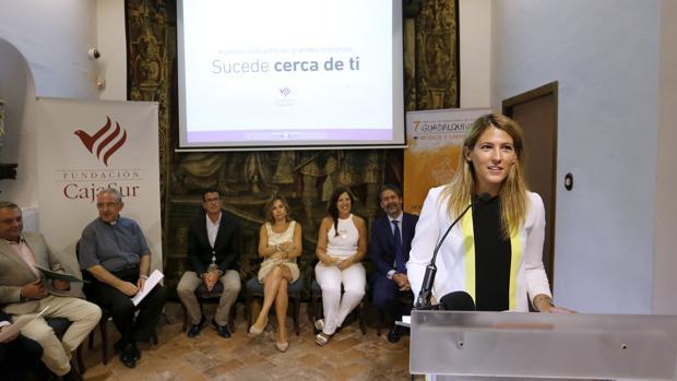 La directora, María Dolores Gaitán, da los detalles de la cita