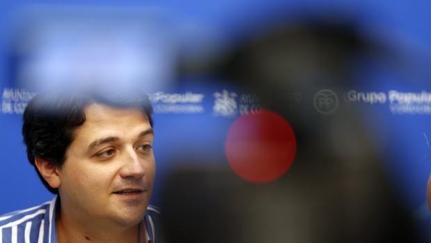 José María Bellido, durante una comparecencia