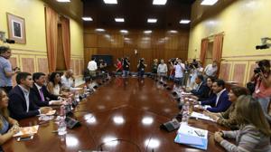 El PP y Ciudadanos exhiben su nueva alianza