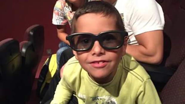 El pequeño Antonio Afán