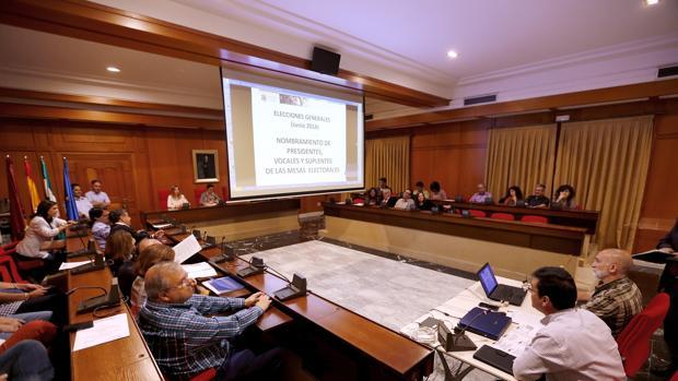 Imagen de una sesión del Pleno de Córdoba