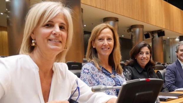 La diputada por Cádiz María José García-Pelayo, en una reciente imagen en el Congreso