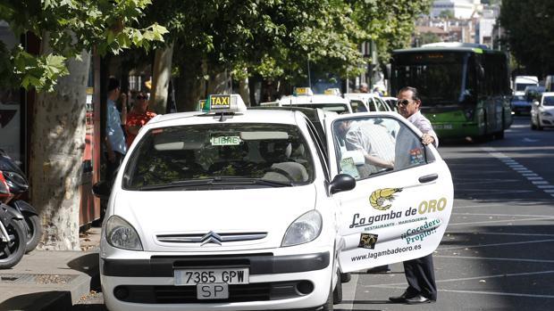 Parada de taxis en Córdoba capital