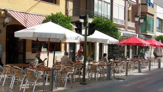 Terrazas de bares en Puente Genil