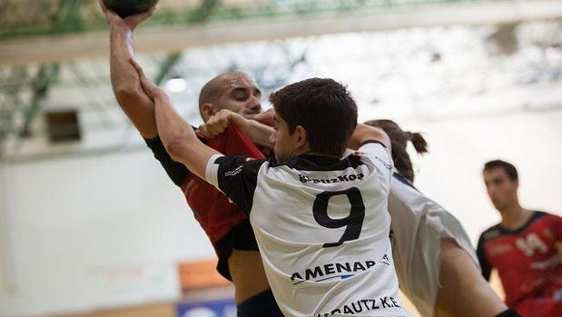 El Cajasur Córdoba, en el partido de la primera jornada de la semana pasada
