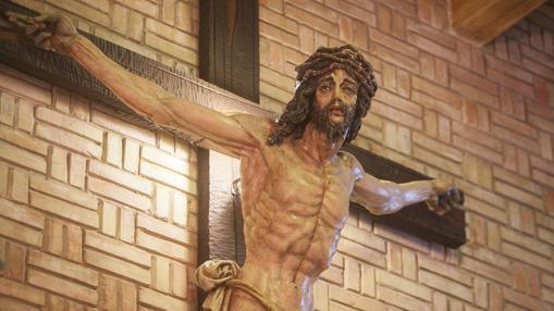 Detalle del Crucificado