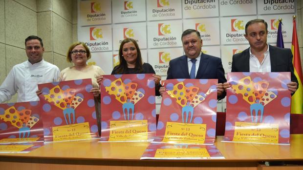 Presentación de los carteles de la Fiesta del Queso de Zueros