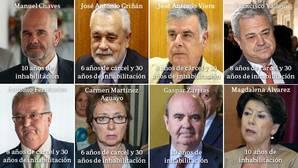 Un cuarto de siglo de Gobierno andaluz en el banquillo de los acusados