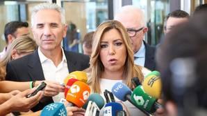 Díaz defiende de nuevo la «honradez y honestidad» de Griñán y Chaves
