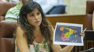 Teresa Rodríguez no logra imponer su voz en Podemos Andalucía