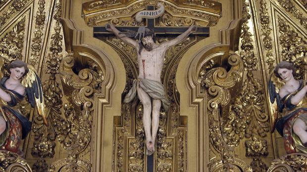 Cristo del retablo mayor de la iglesia de San Andrés