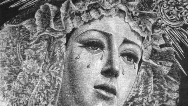 Cartel del XXX aniversario de la Virgen de la Victoria
