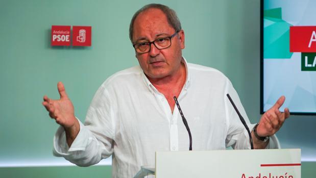 El número dos del PSOE andaluz, Juan Cornejo