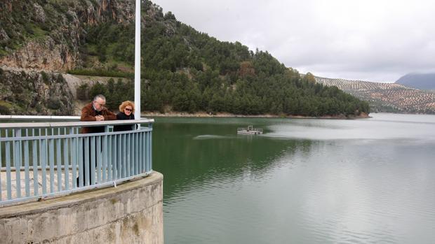 El agua que llega a Posadas y almodóvar proviene del pantano de Iznájar