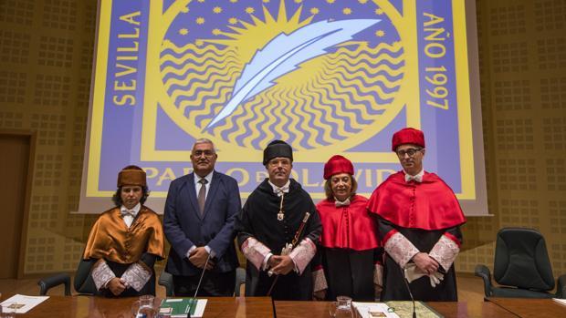 Apertura del curso universitario 2016/17 en la Universidad Pablo de Olavide de Sevilla