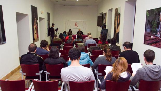 Público asistente a un acto de la Cátedra Góngora