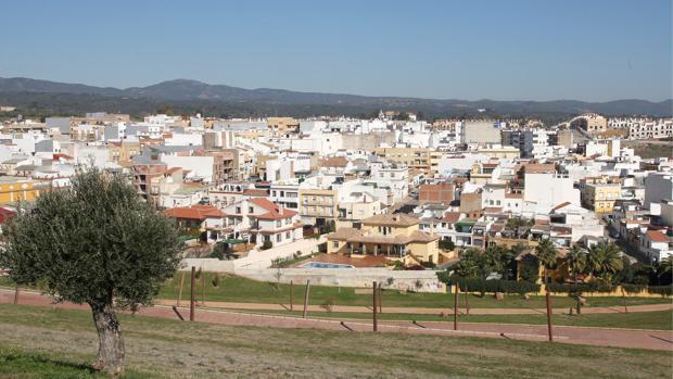 Vista panorámica del barrio de El Naranjo