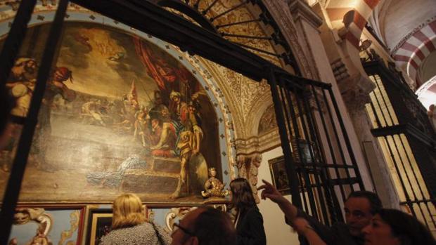 Uno de os cuadros de la Mezquita-Catedral que forman parte de la propuesta artístico