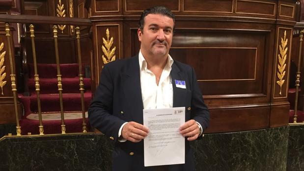 El abogado Manuel Martos en la Cámara Baja