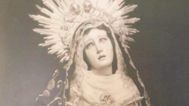 María Nazarena en los años 20 del pasado siglo