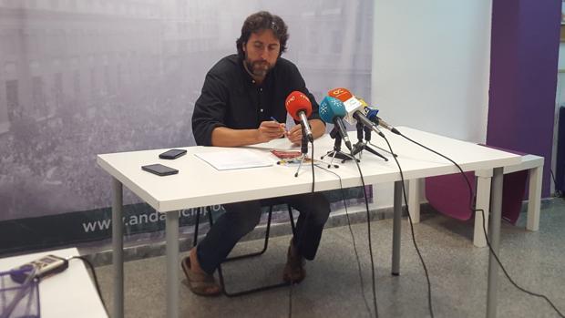 Jesús Rodríguez, número 2 de Podemos Andalucía, ha anunciado el reglamento y plazos de la Asamblea Ciudadana