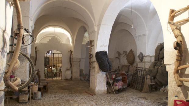 Dependencias del palacio barroco lucentino