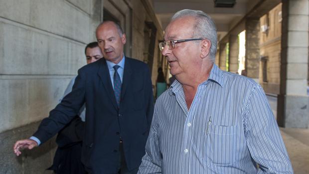 Antonio Fernández, consejero imputado en la pieza política