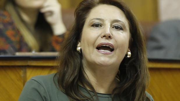 La portavoz parlamentaria del PP, Carmen Crespo