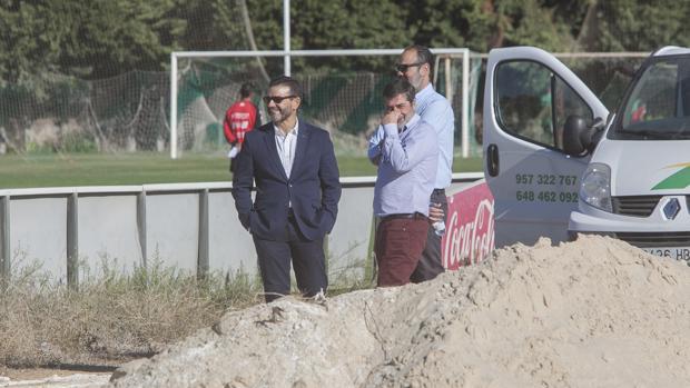 González y Jiménez, en la Ciudad Deportiva Rafael Gómez